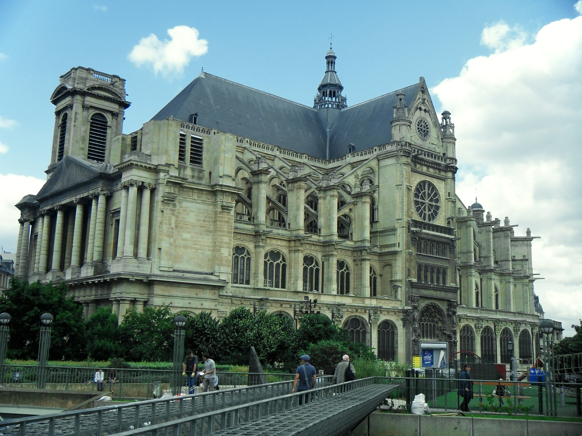 église saint-eustache de paris