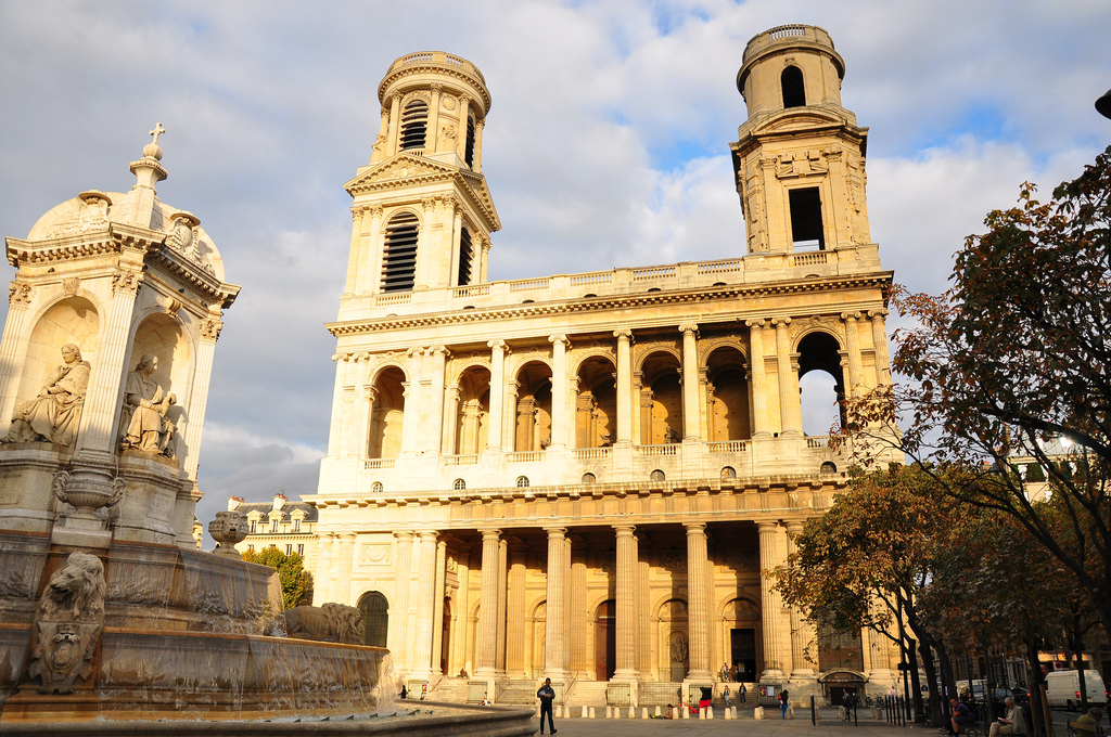 église saint-sulpice de paris<